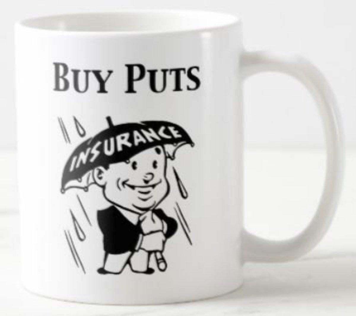 Buy Puts Mug