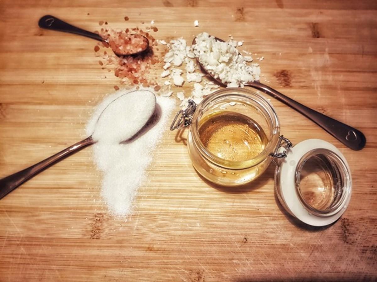Masculine Bergamot Body Scrub Recipe