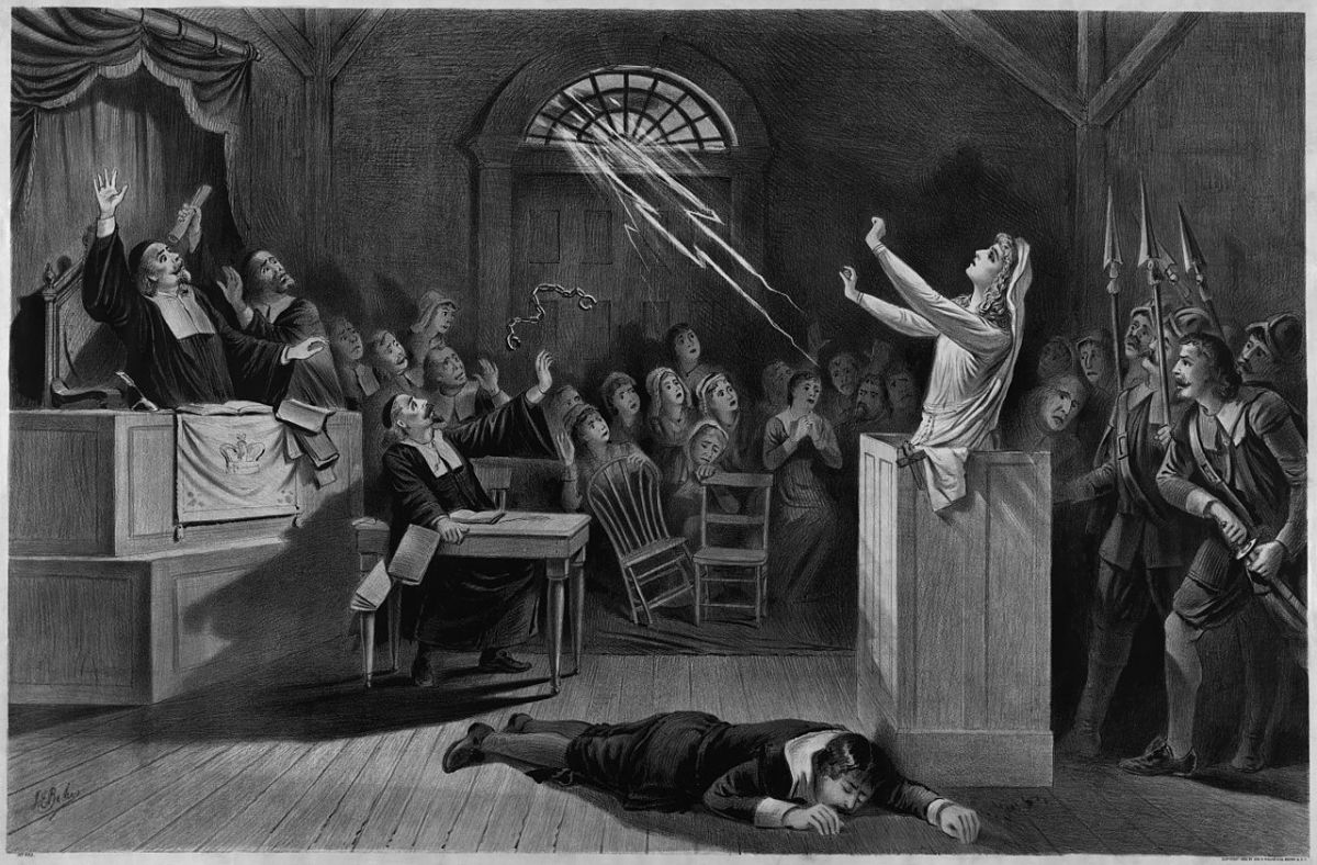 the deterioration of salem during the witch trials in the crucible The connection between salem in 1692 and mccarthyism during the 1950's was primarily due to arthur miller's the crucible miller wrote the play as a response to what he viewed as a 'modern' day witch hunt.