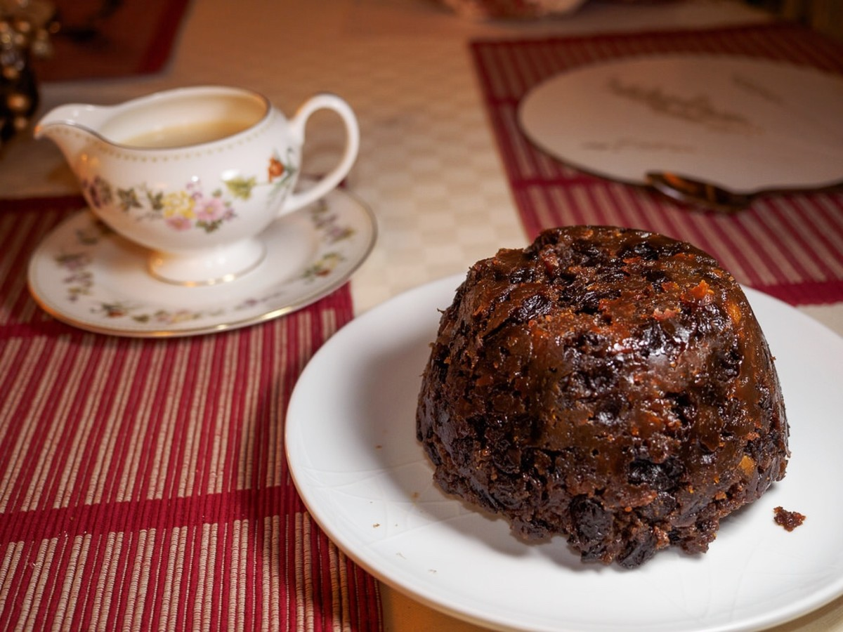 Finding a sixpence in a Christmas pudding is a sign of good luck.