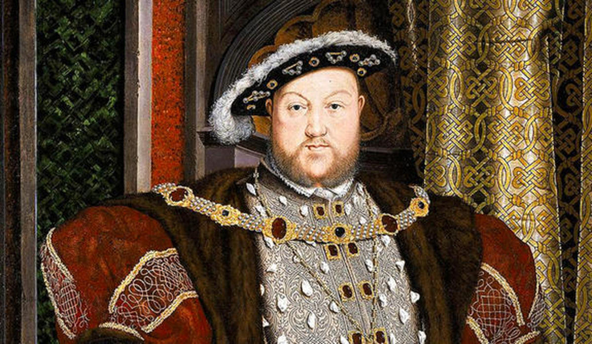 Presumably, the most famous Tudor of all; King Henry VIII.