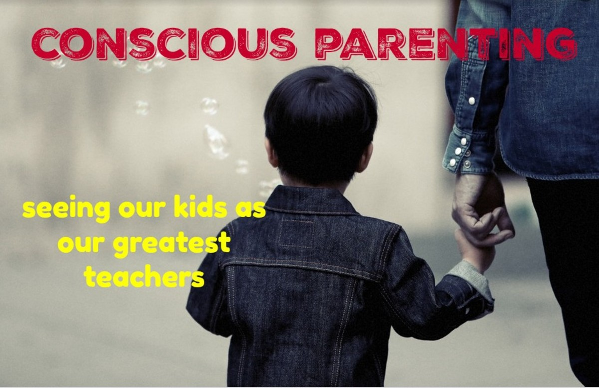 Conscious parenting represents a paradigm shift as adults learn from kids.