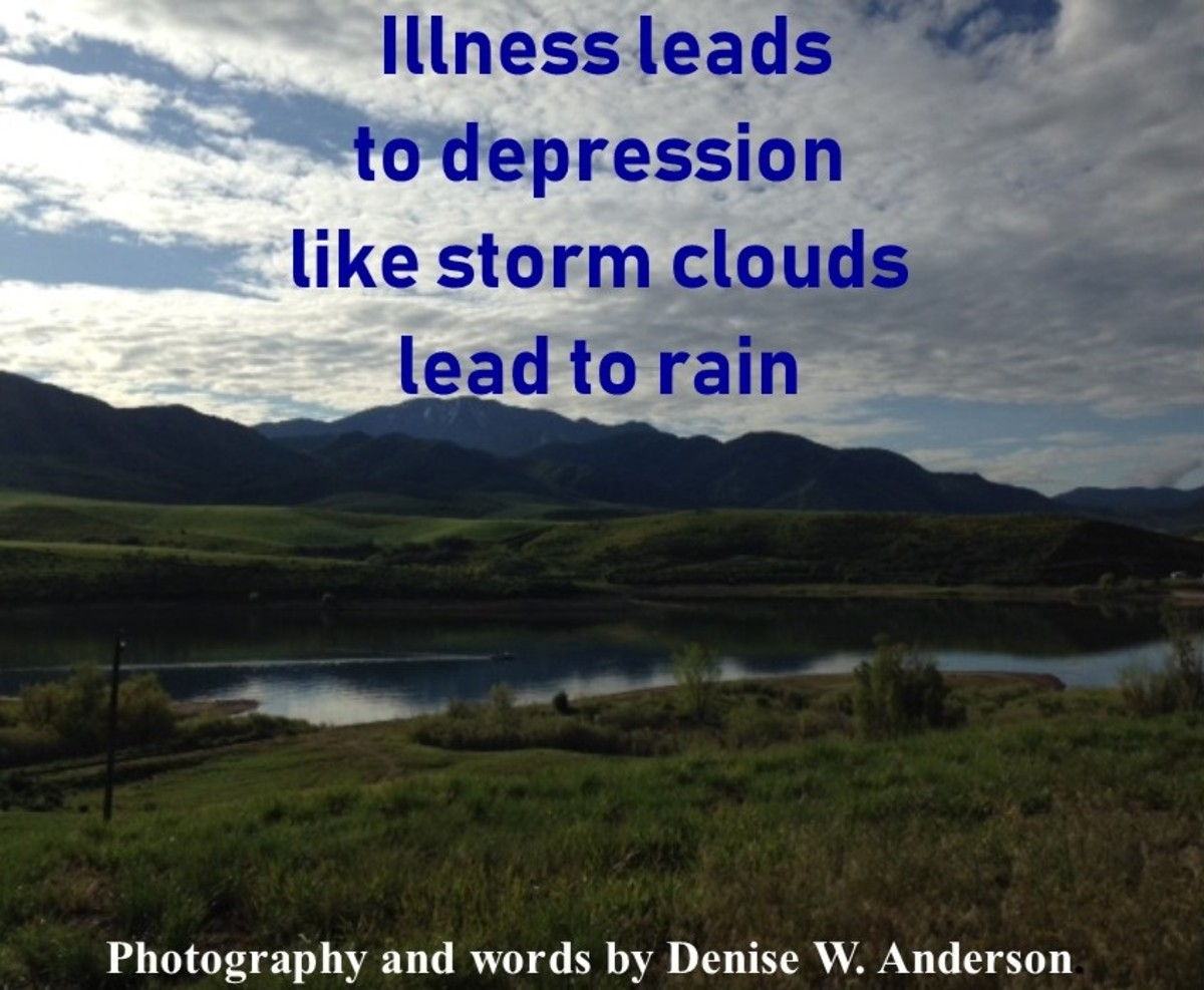 Illness and depression go hand in hand unless we do something to prevent it.