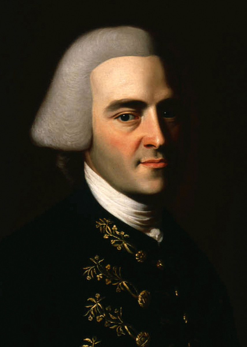 Portrait of John Hancock done by John Singleton Copley around 1771