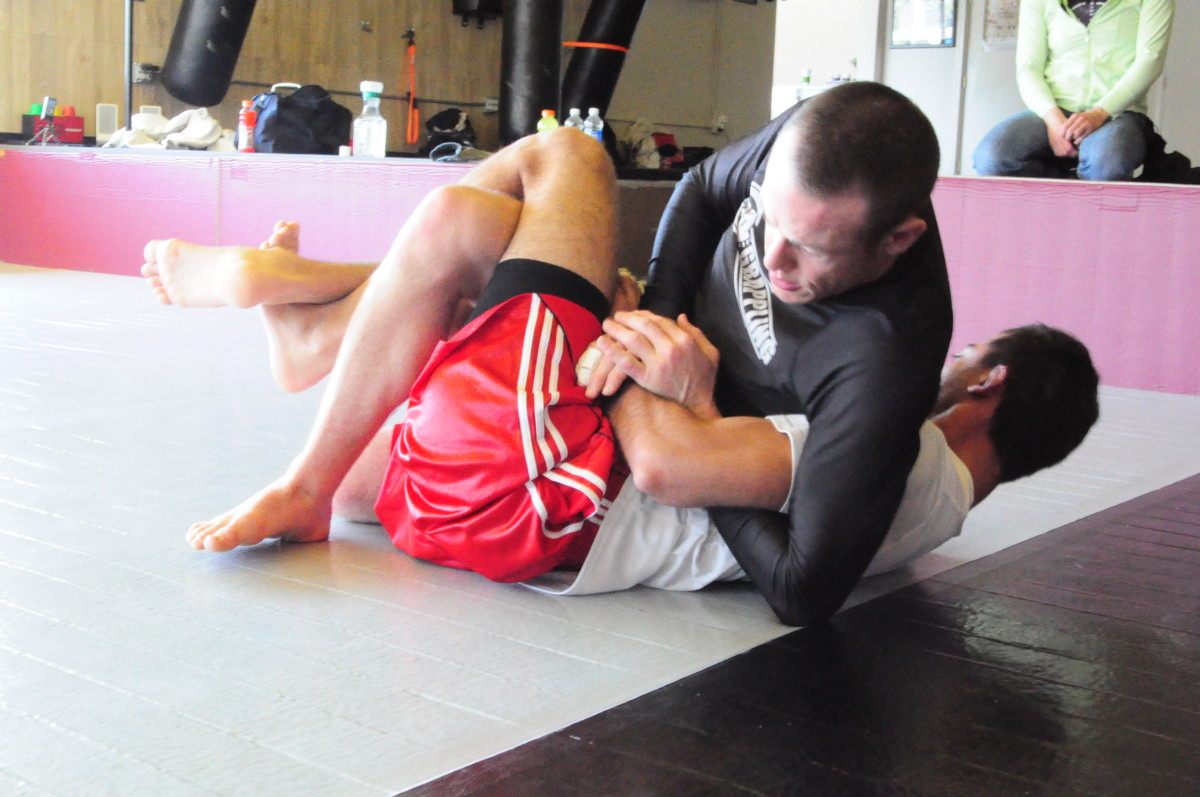 Digging out a Kimura.