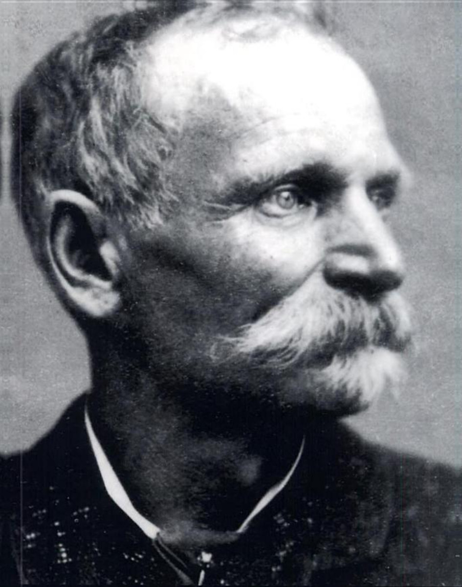 Charles Boles, aka Black Bart.