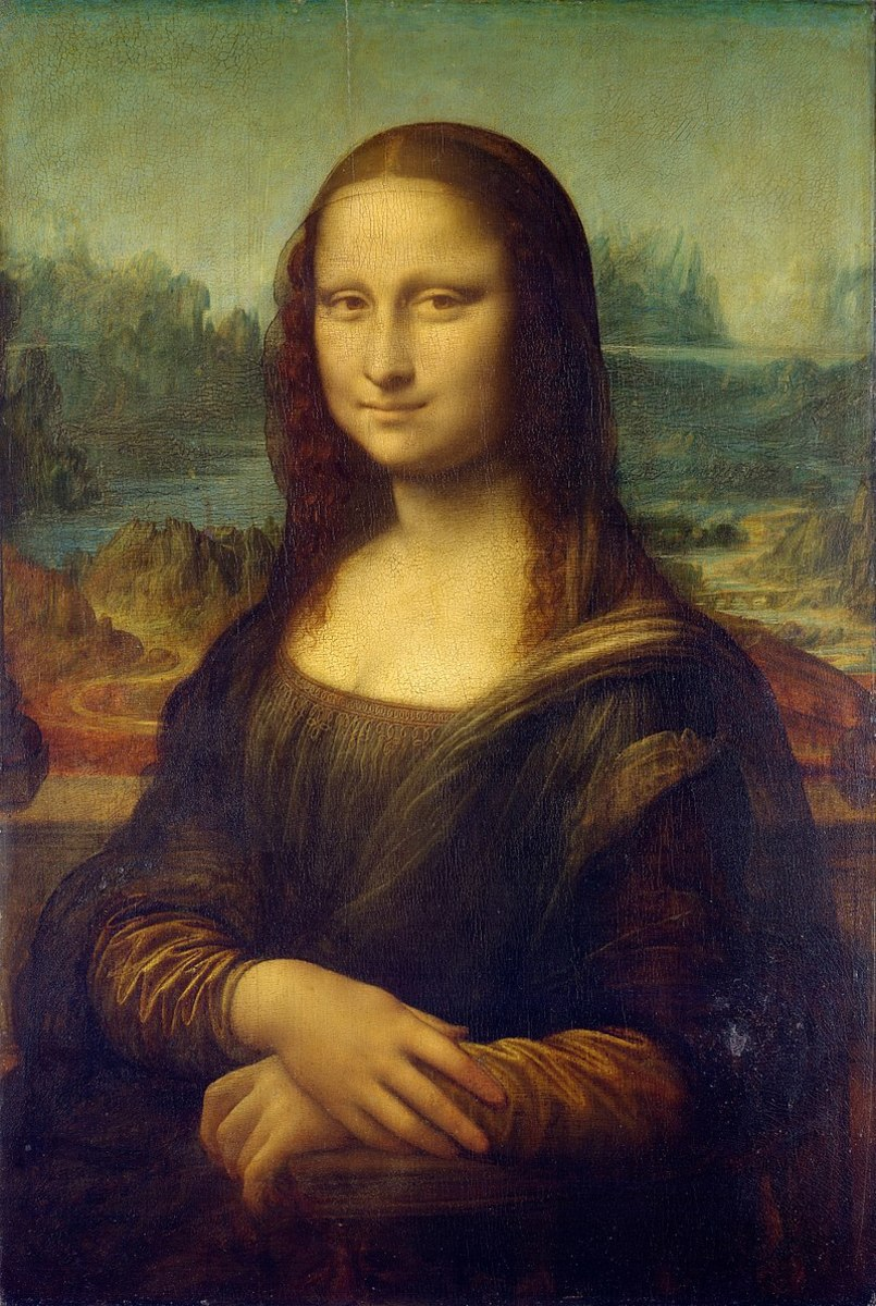 What better painting to start with than the most popular painting in the world?