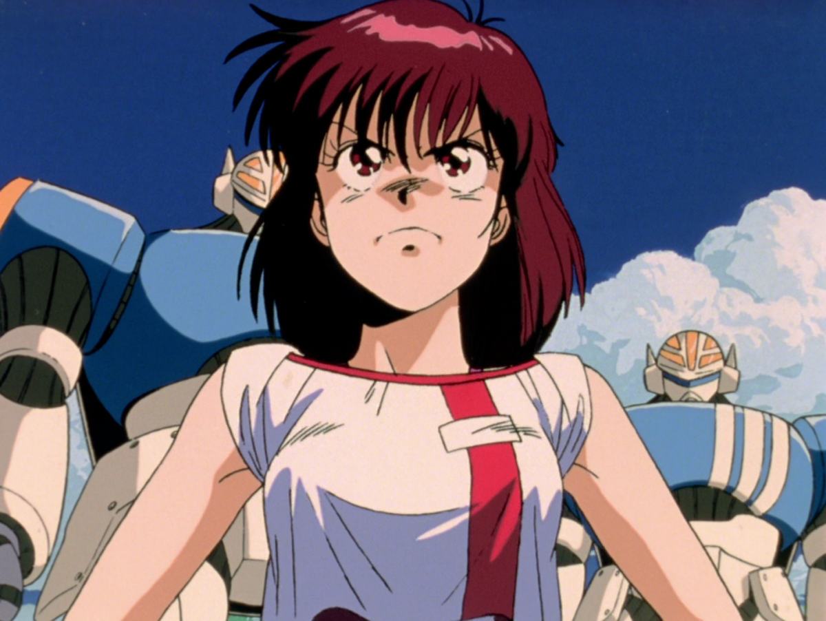 Noriko steps forward, ready to fulfill her father's legacy.