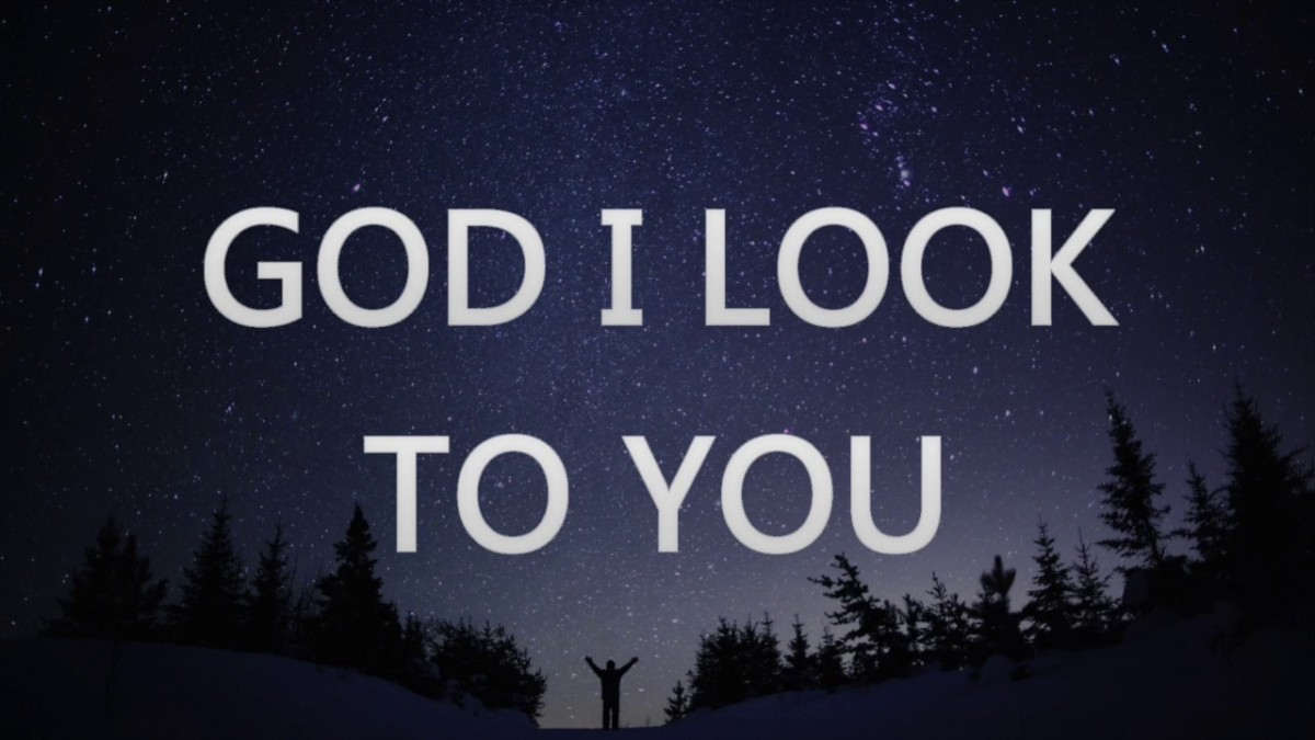 """God,"" 'I Look to You'"