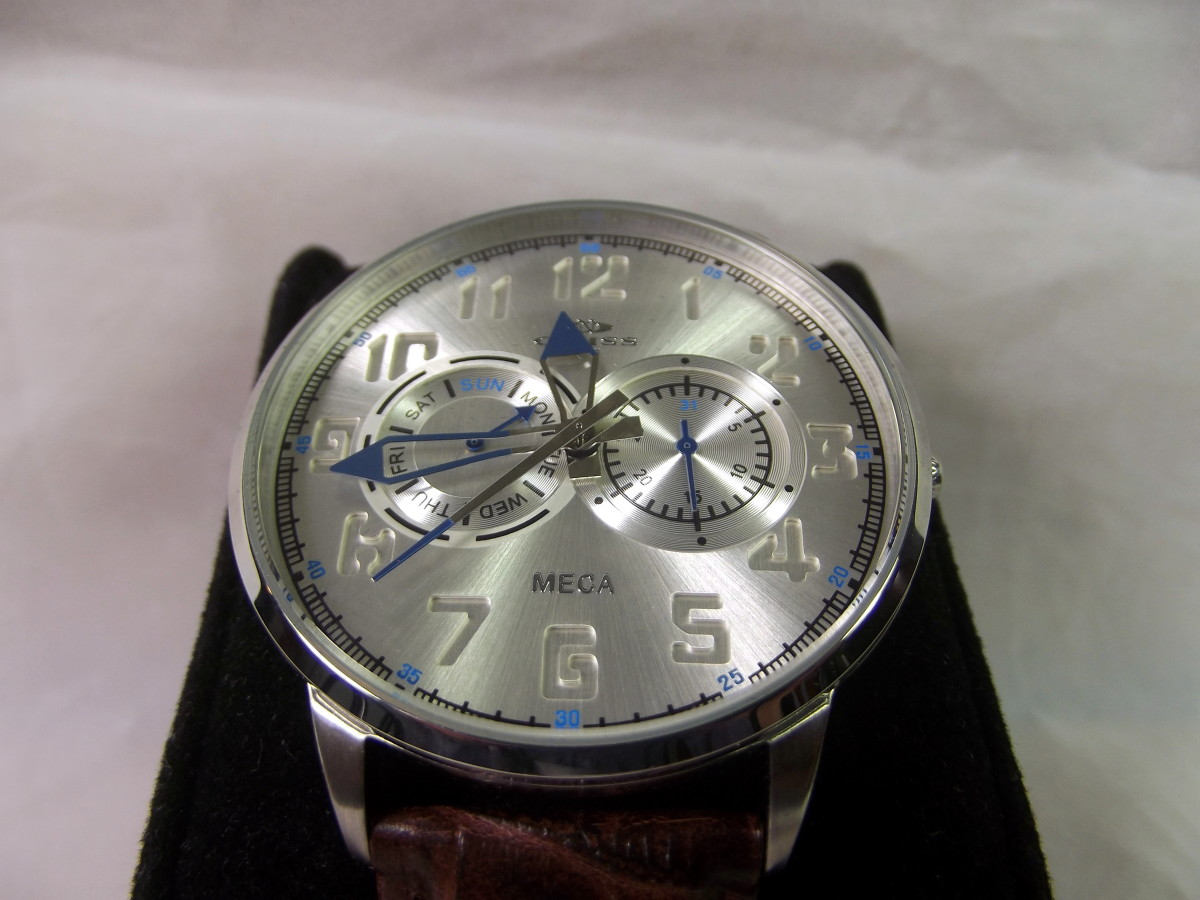 Review of the Oniss Paris Meca Watch