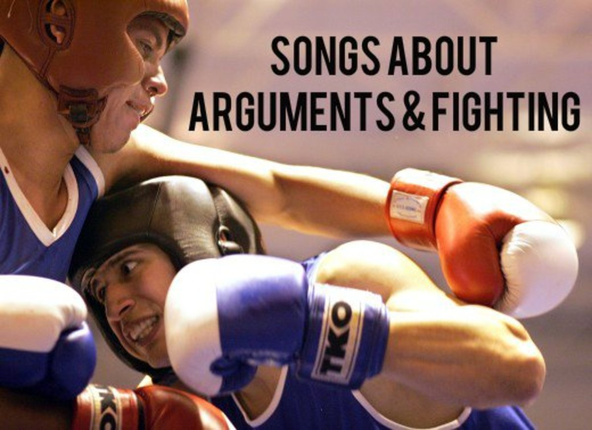 Everyone is arguing or fighting over something nowadays. Whether you're right or wrong, make a playlist of pop, rock, country and metal songs about disagreements, arguments, disputes, debates, clashes, heated discussions and differences of opinions.