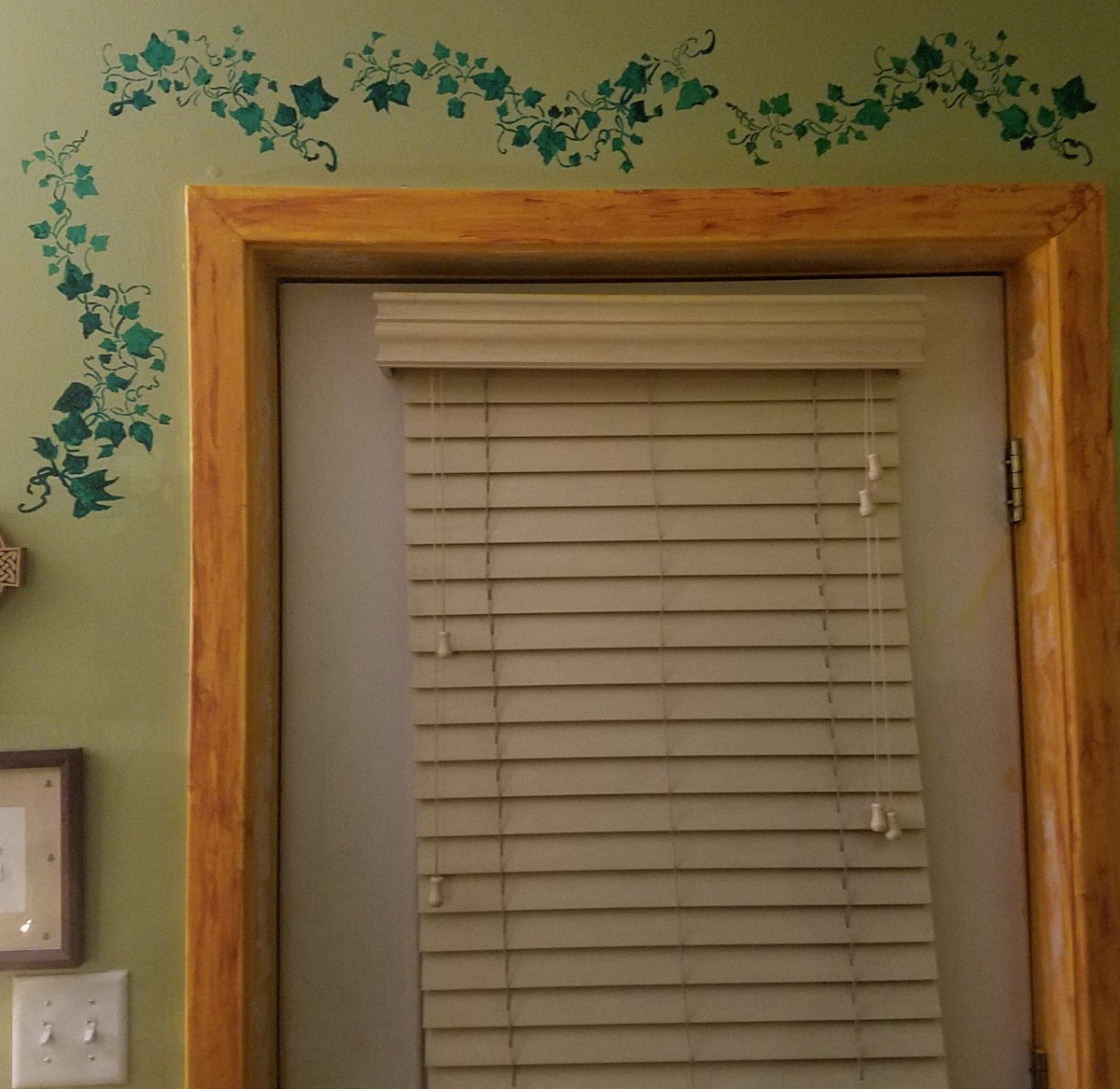 I love making my home beautifully unique by painting murals that are cheerful and engaging.