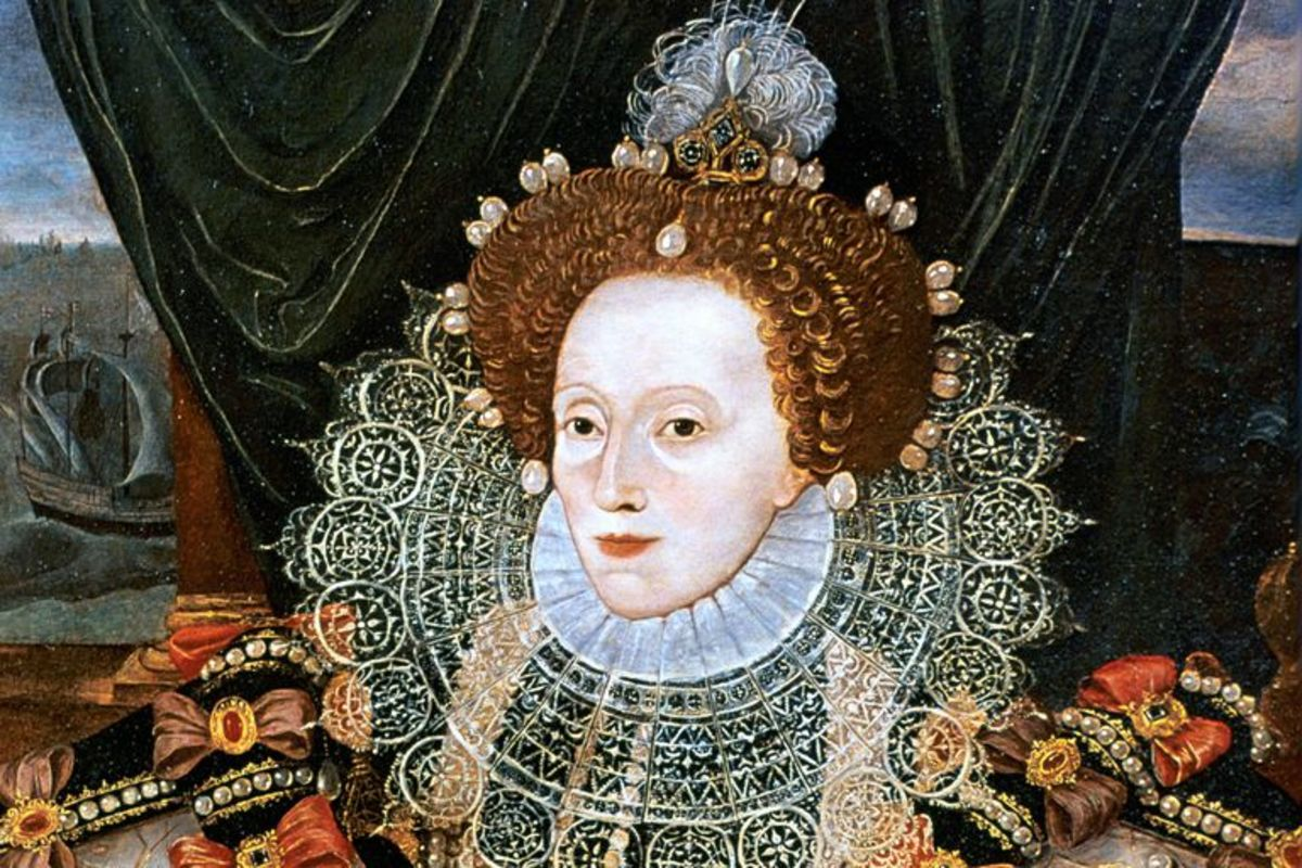 Elizabeth I, one of the fiercest ladies in history.