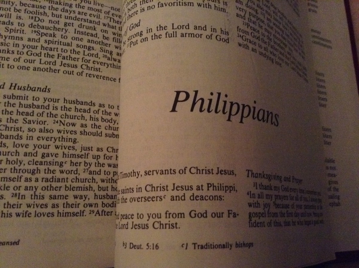 Lessons in Joy From the Philippians