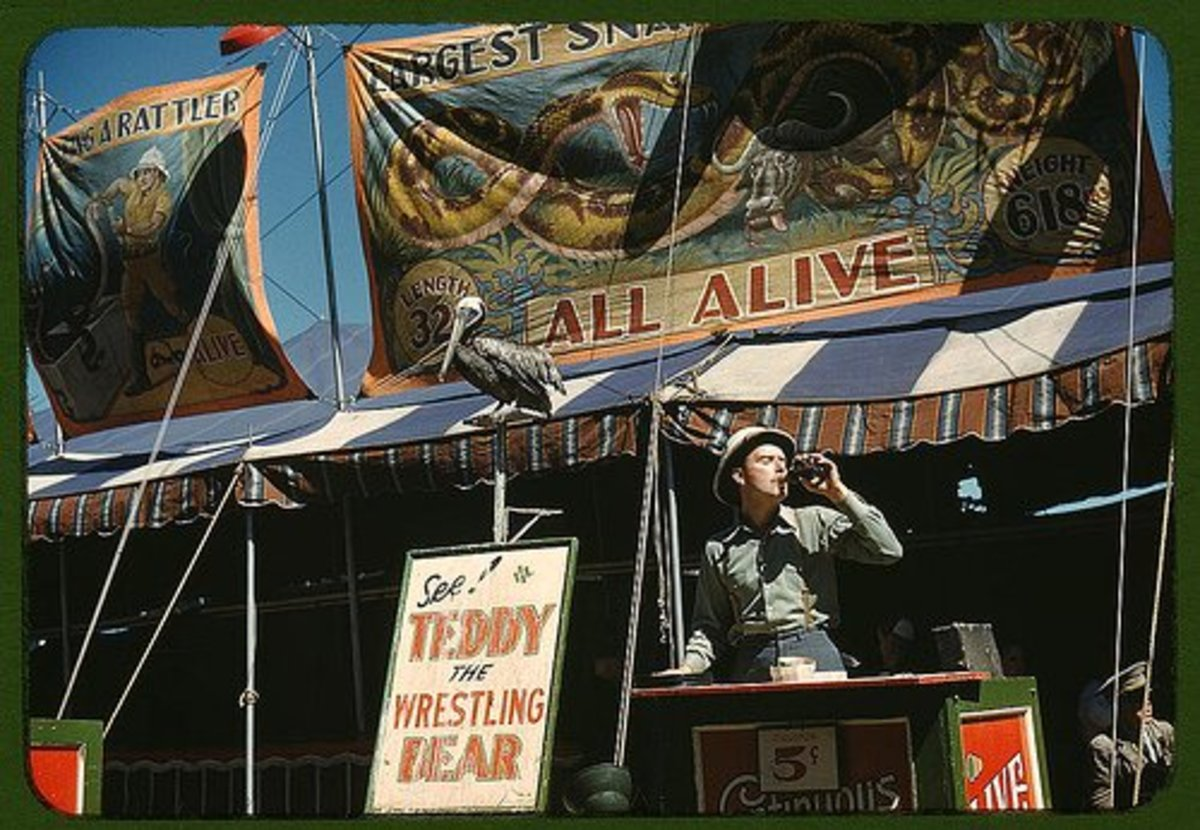 The Grotesque World of the Carnival Sideshow
