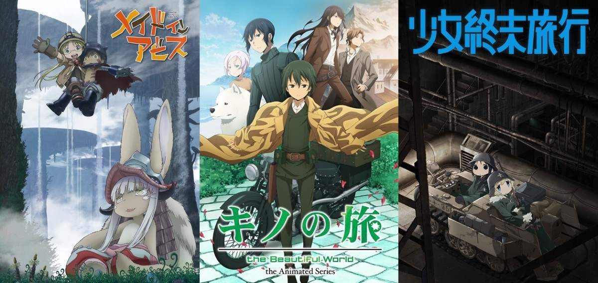 The Five Best Adventure Anime of 2017