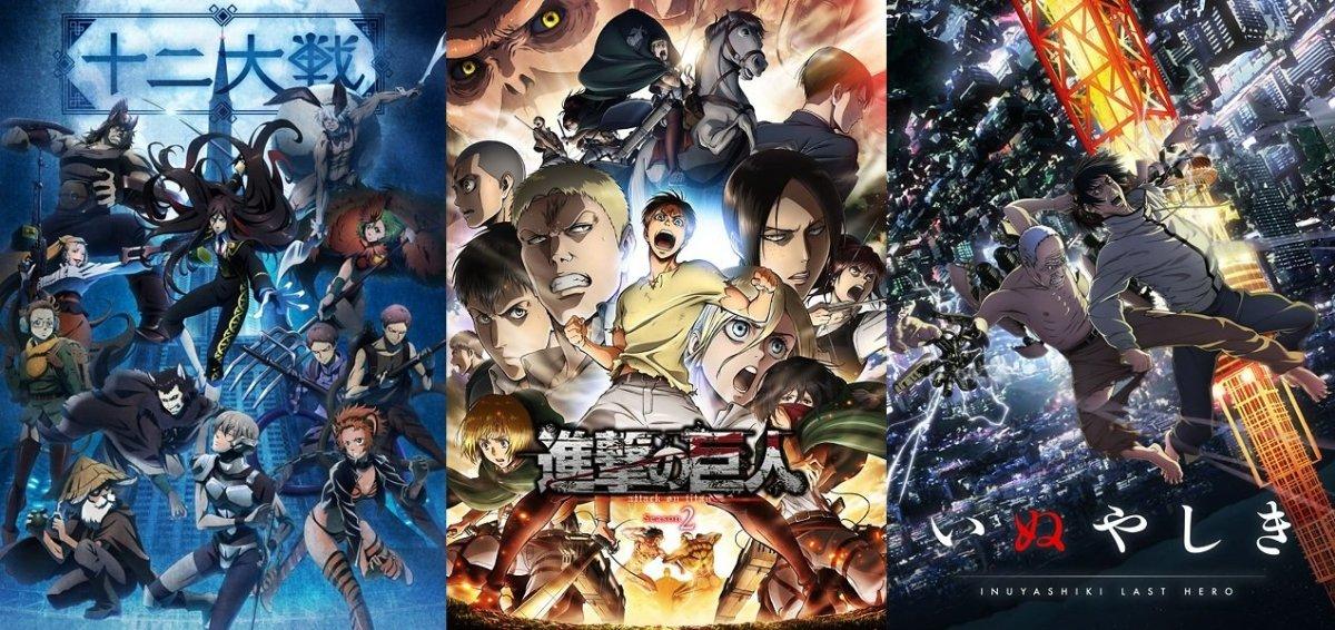 The Ten Best Anime Series Of 2017