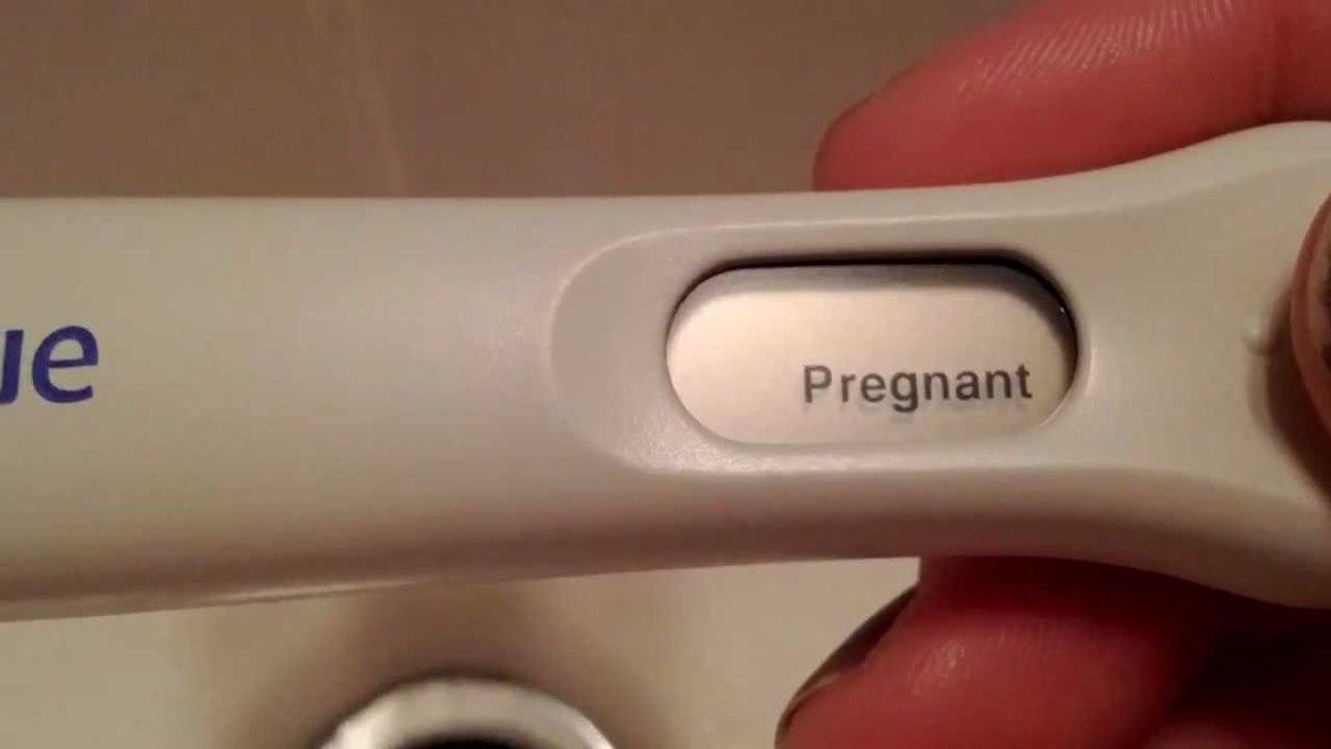 Positive pregnancy test!