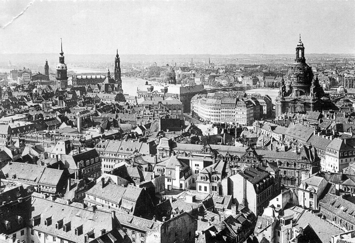 The city of Dresden, 1910