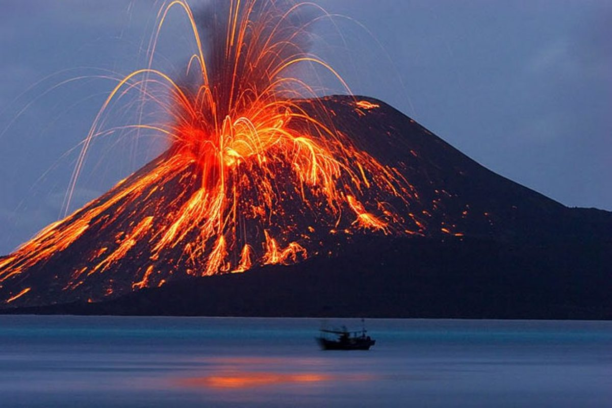Mt. Gallunggung in Java is considered to be one of the most active and potentially deadliest volcanoes on the planet.