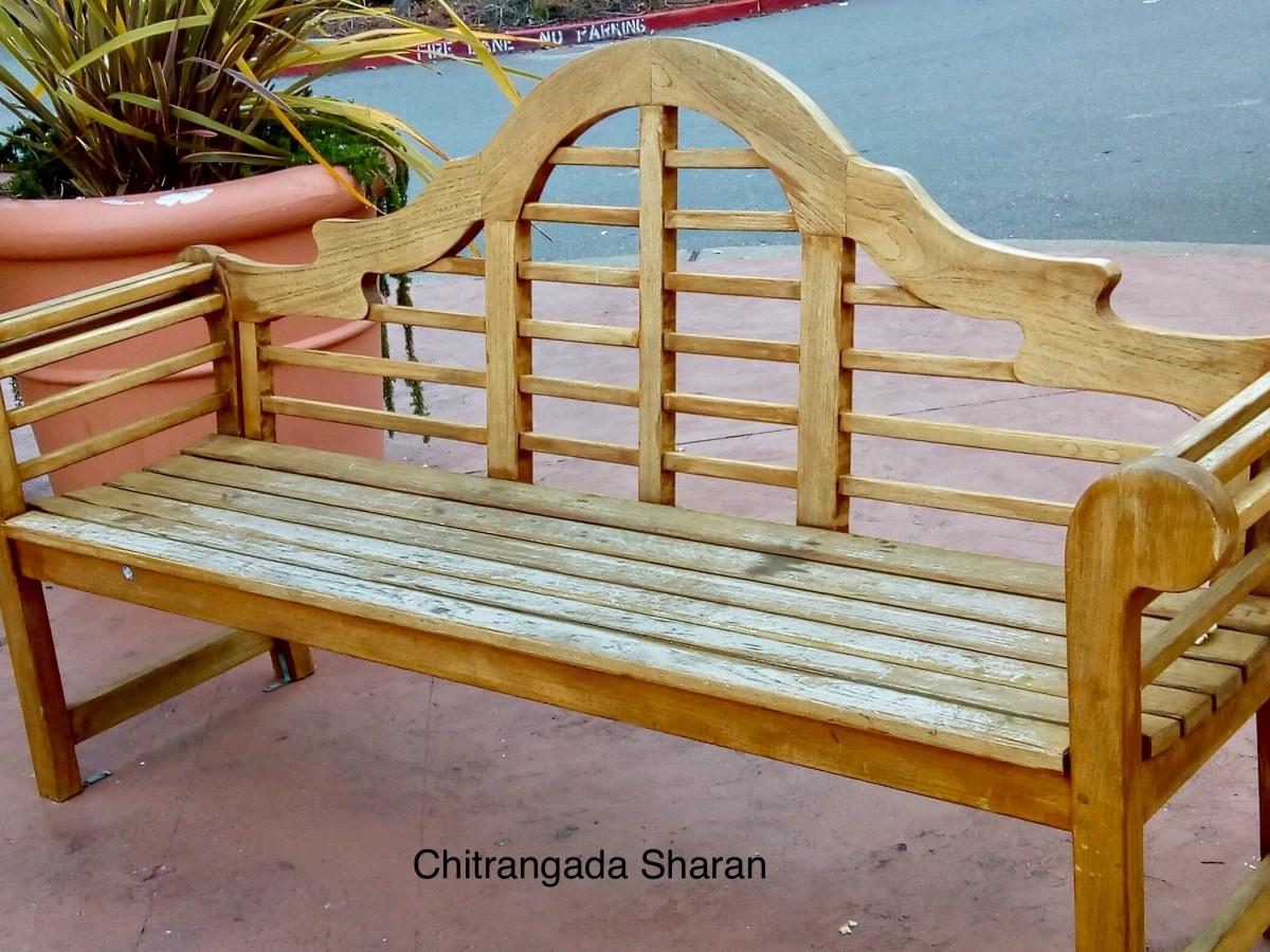 The humble garden chair
