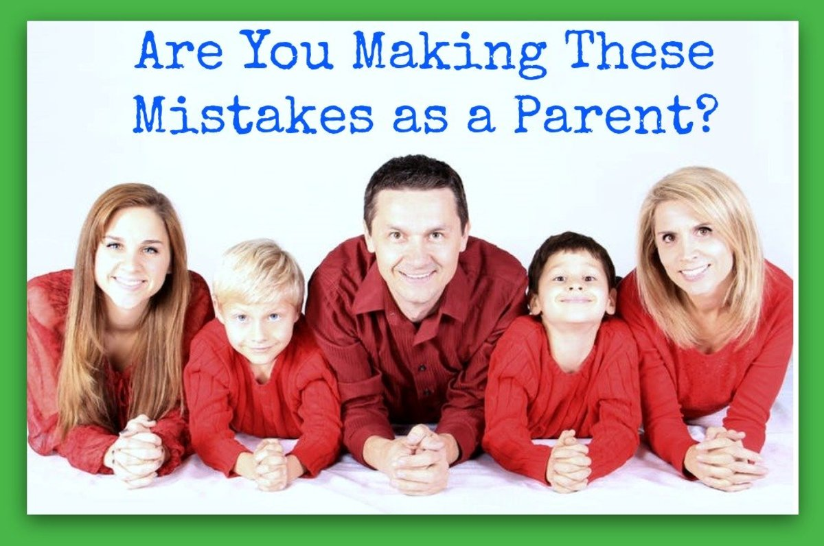 The 5 Worst Mistakes You Can Make as a Parent