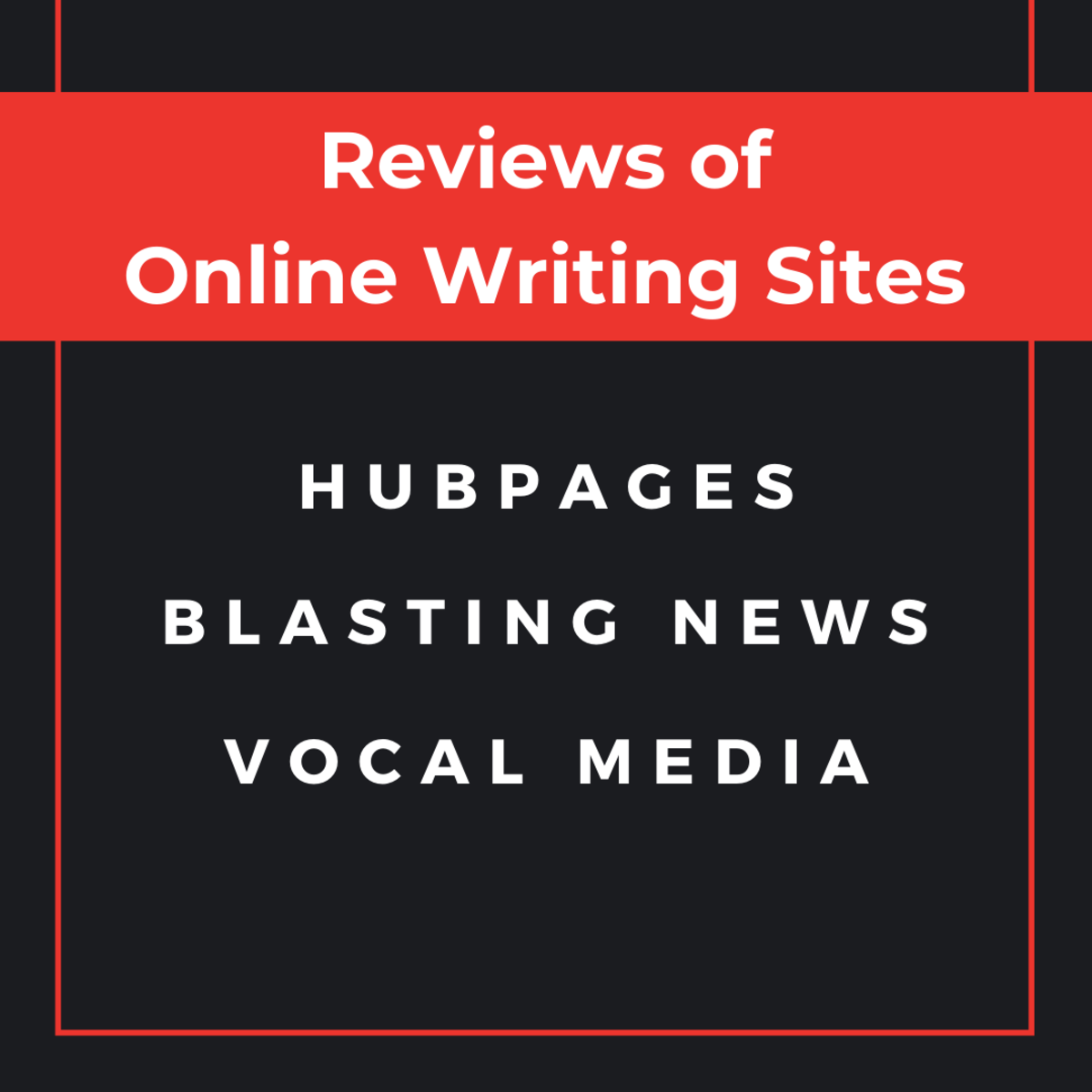 Read detailed reviews of three online writing sites, based on the author's personal experience.