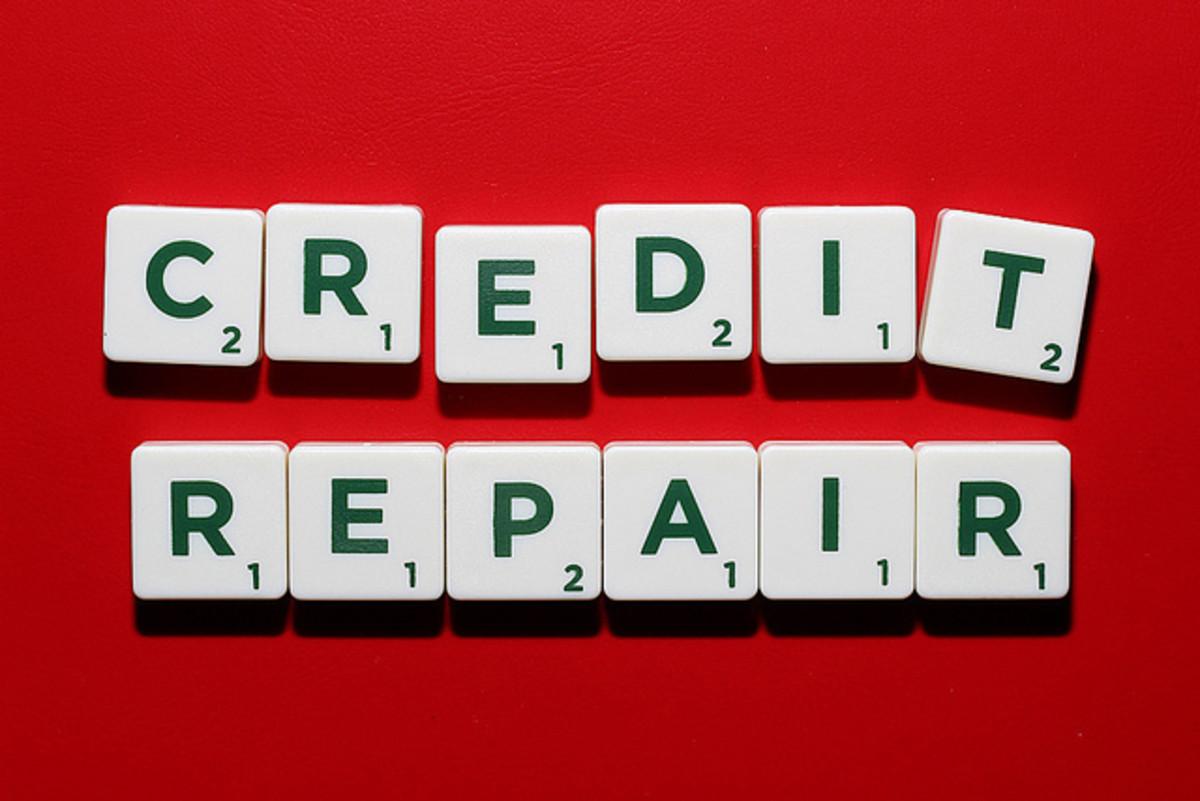 Credit repair isn't easy.