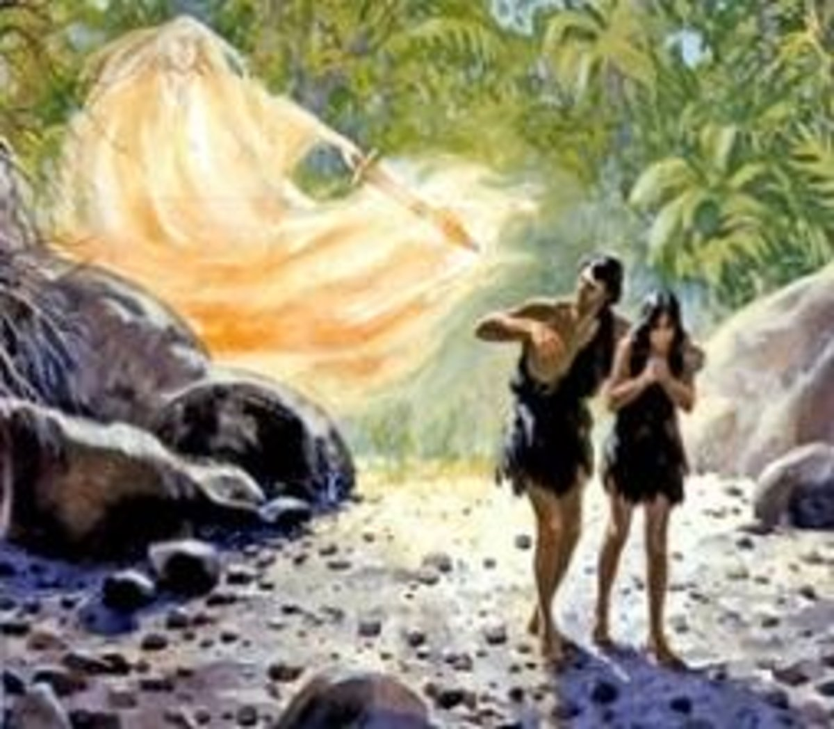 Gods Salvation Because of Adam and Eves Fall From the Garden of Eden