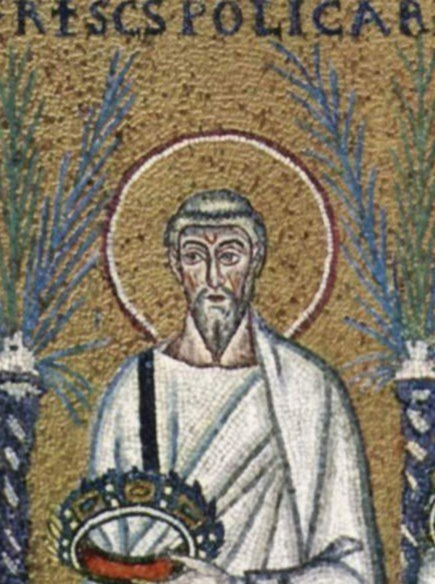 A sixth century depiction of Polycarp