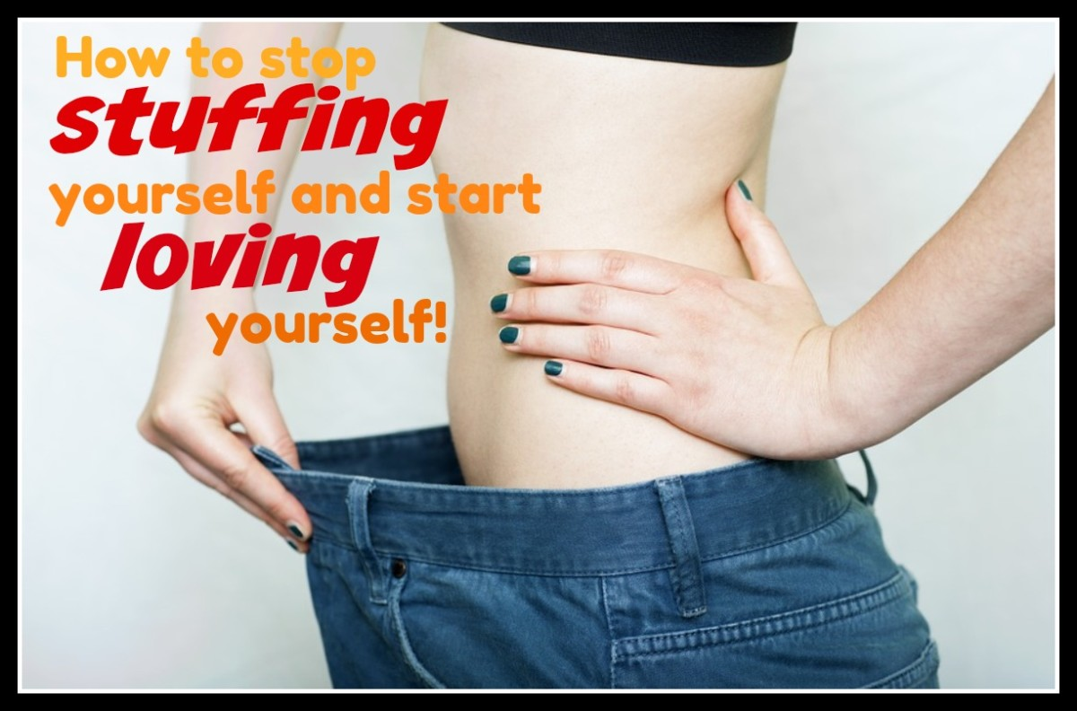 How to Lose Weight by Loving Yourself, Not Stuffing Yourself