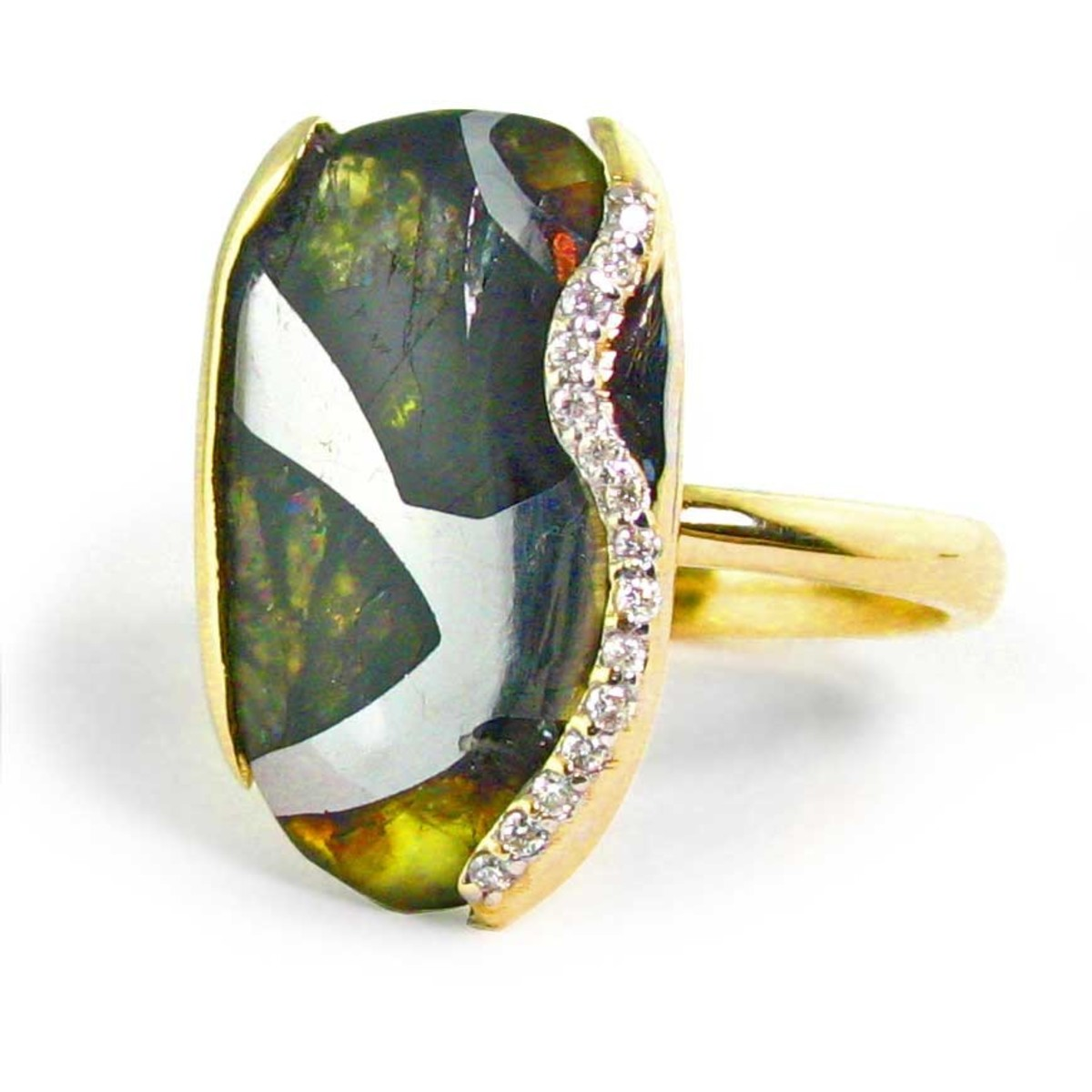 A pallasite ring