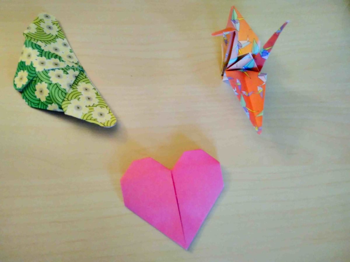 Maybe Origami would be just the thing for you!