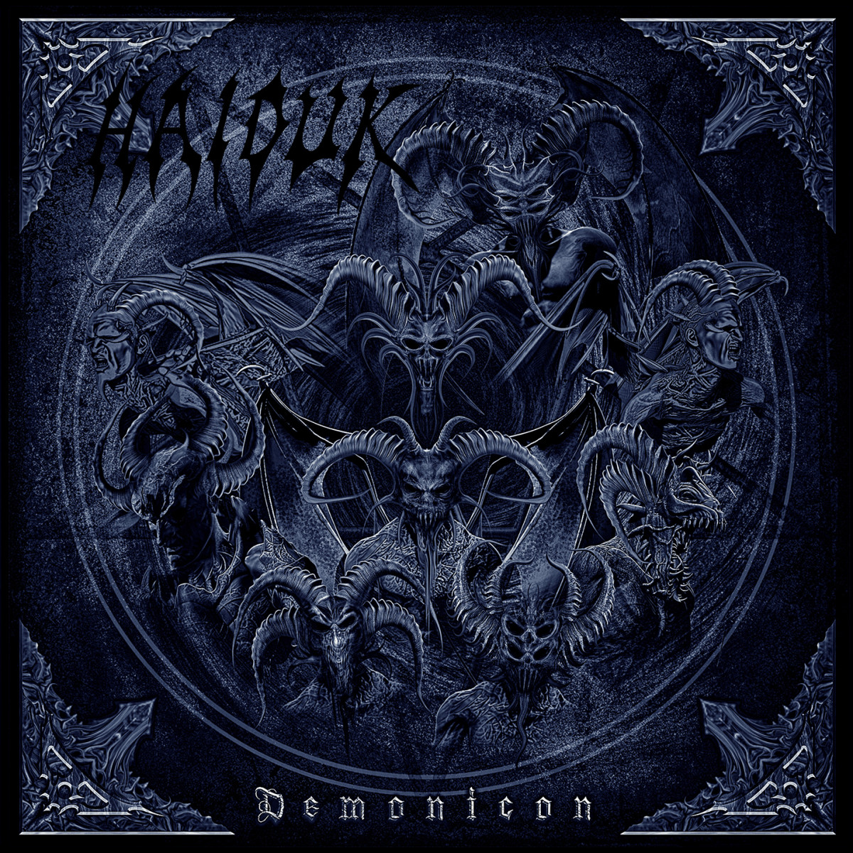 "Haiduk ""Demonicon"" album cover"