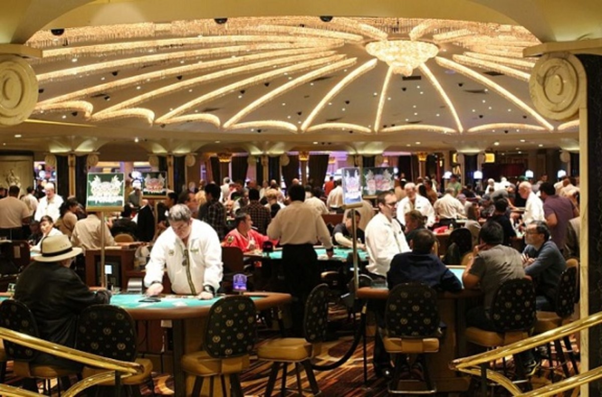 TYPICAL CASINO AMBIANCE