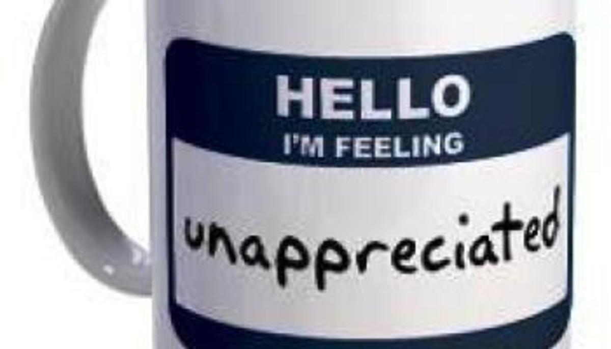 What to Do When You Feel Unappreciated