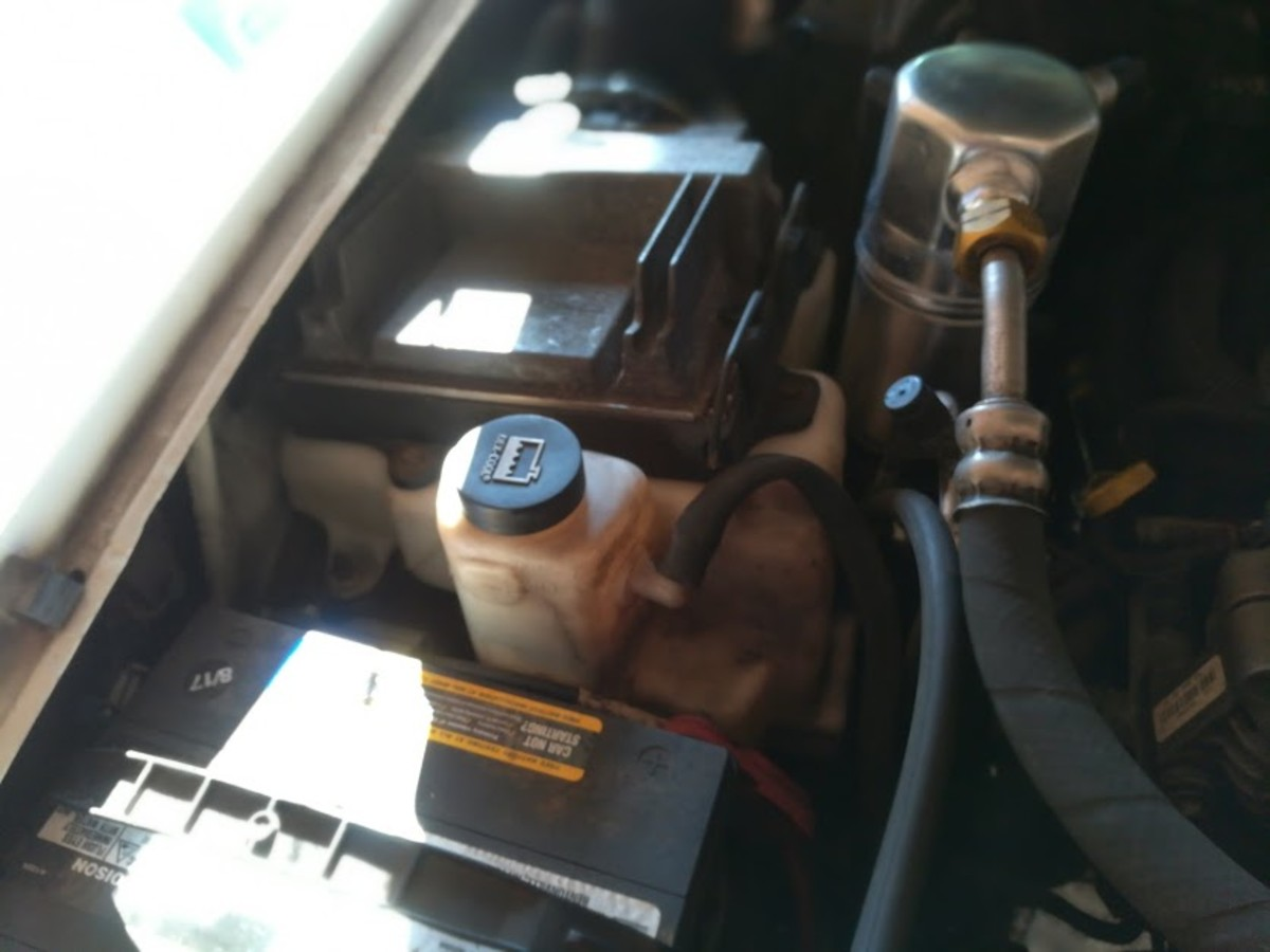 How to Change the Coolant Reservoir on a 2004 Chevy Blazer