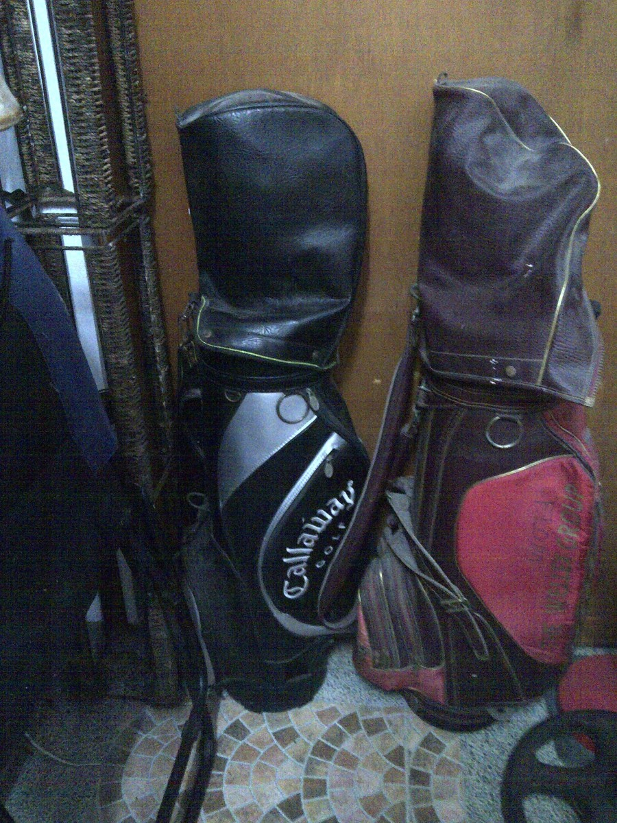 My clubs are stored away, ready for use anytime!