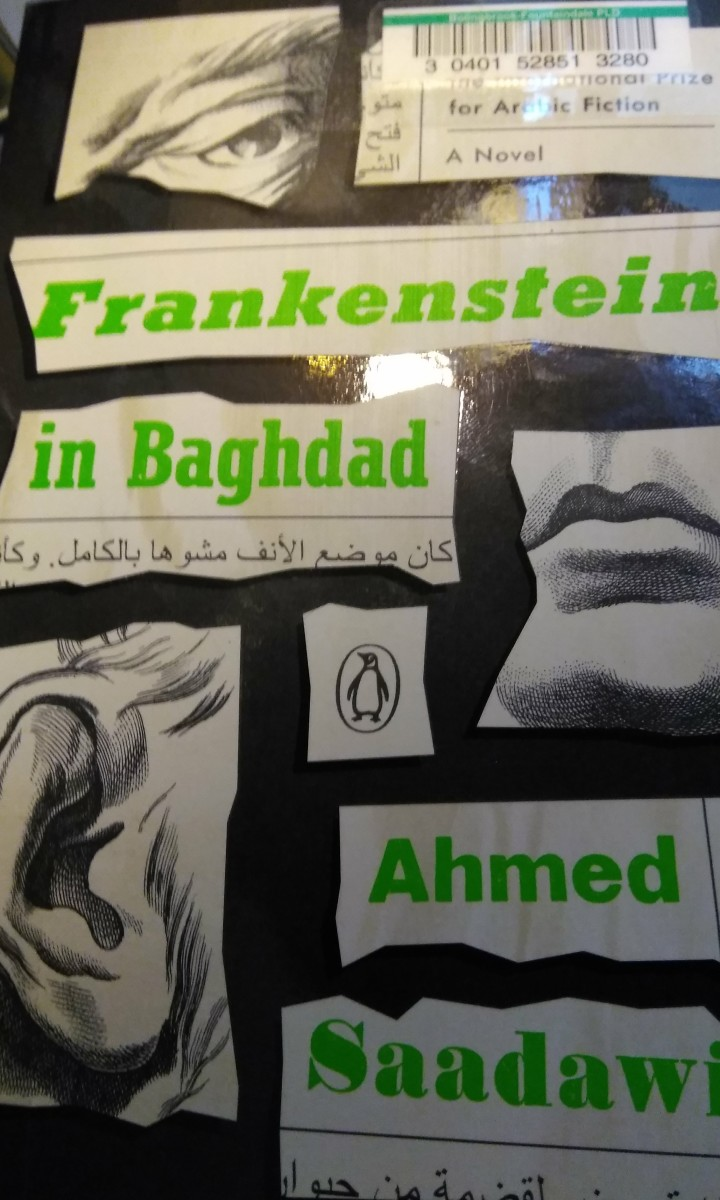 Book Summary: Frankenstein in Baghdad by Ahmed Saadawi