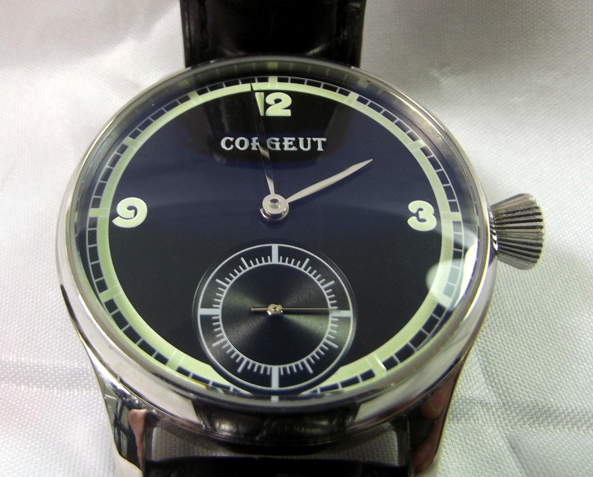 Review of a Corgeut 1527 Mechanical Watch