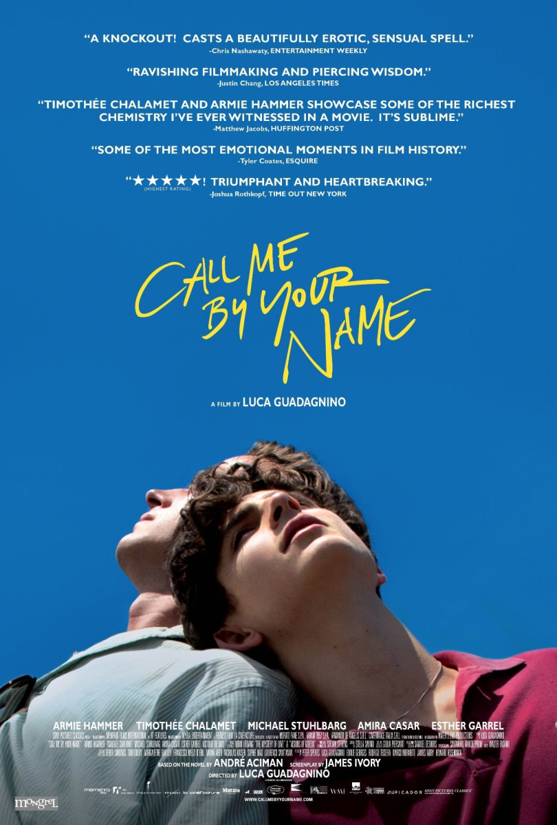 Call Me by Your Name: Movie Review