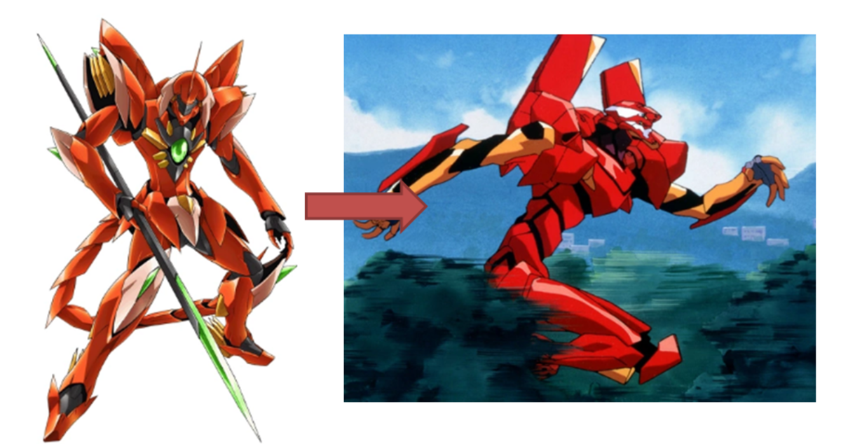 Characters that Look Like an EVA Unit
