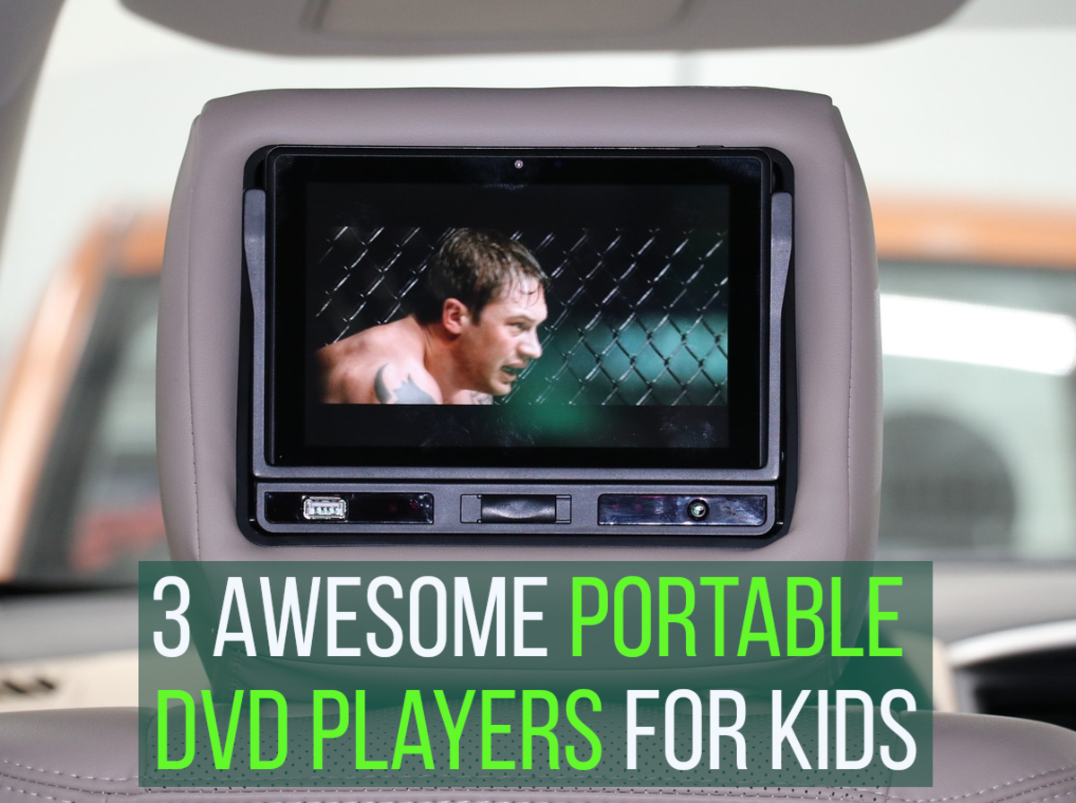 The Best 3 Portable DVD Players for Kids
