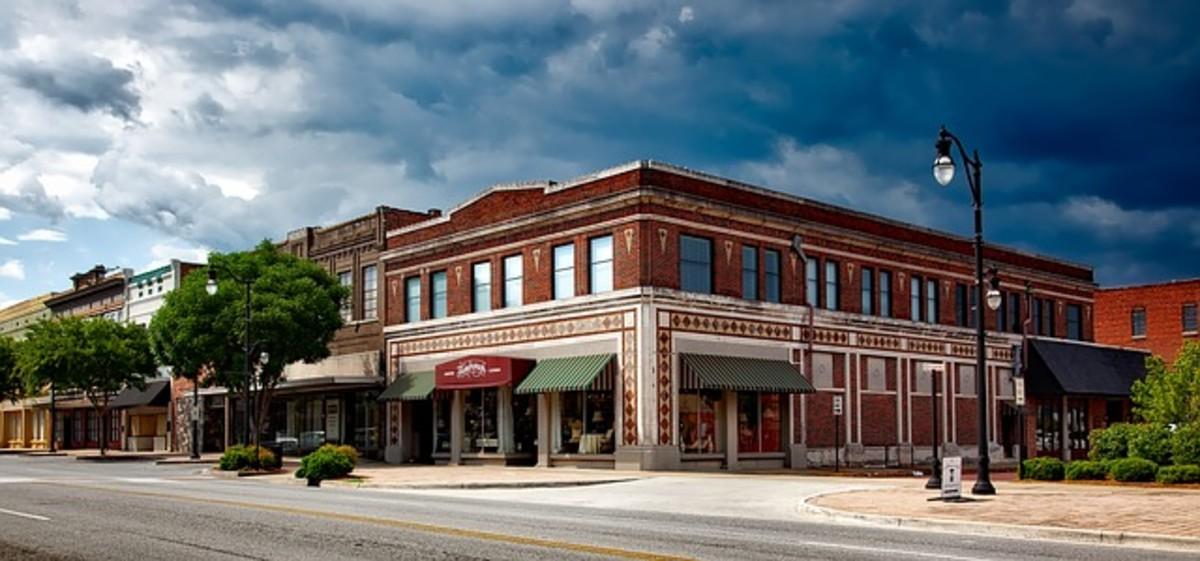a rural town