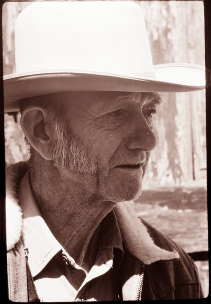 """David """"Carbine"""" Williams in about 1970."""