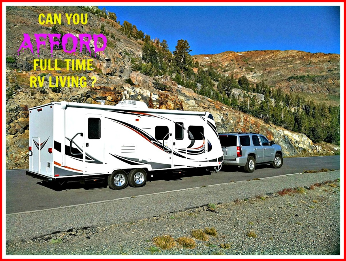 Find out if living year round in an RV is an affordable option for you.
