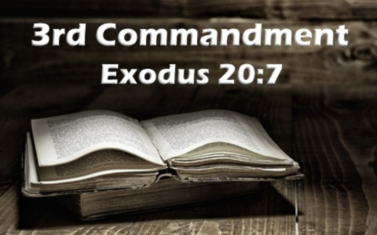 Do We Take the Lord's Name in vain?  Another Look at the Third Commandment