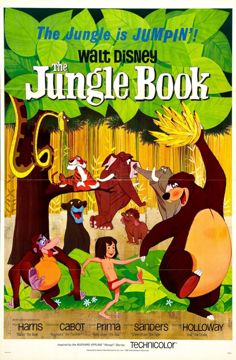Film Review: The Jungle Book (1967)