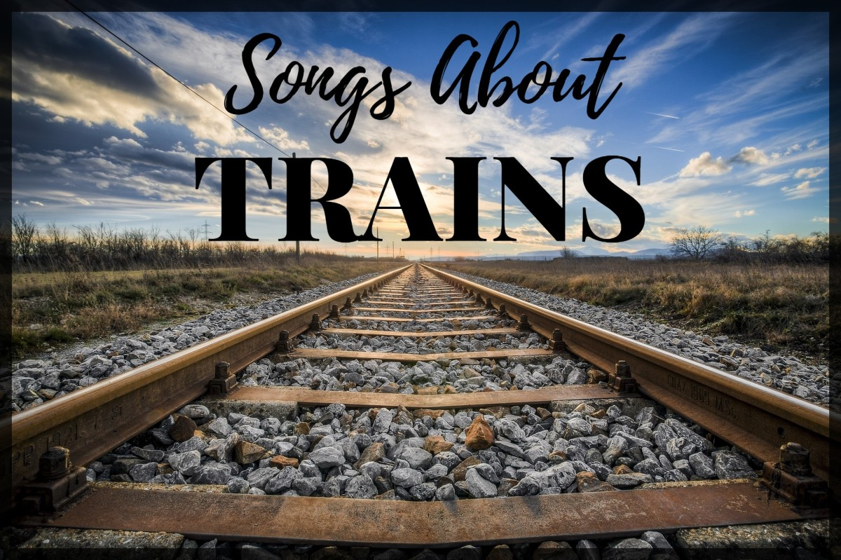 Whether you prefer steam engines, diesel, or electric trains, celebrate the glory of locomotives and cabooses, freight trains, baggage cars, and the railway with a playlist of pop, rock, and country songs about trains.