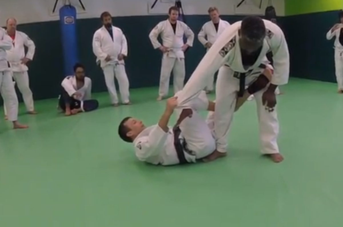 How to Take the Back From De La Riva Guard